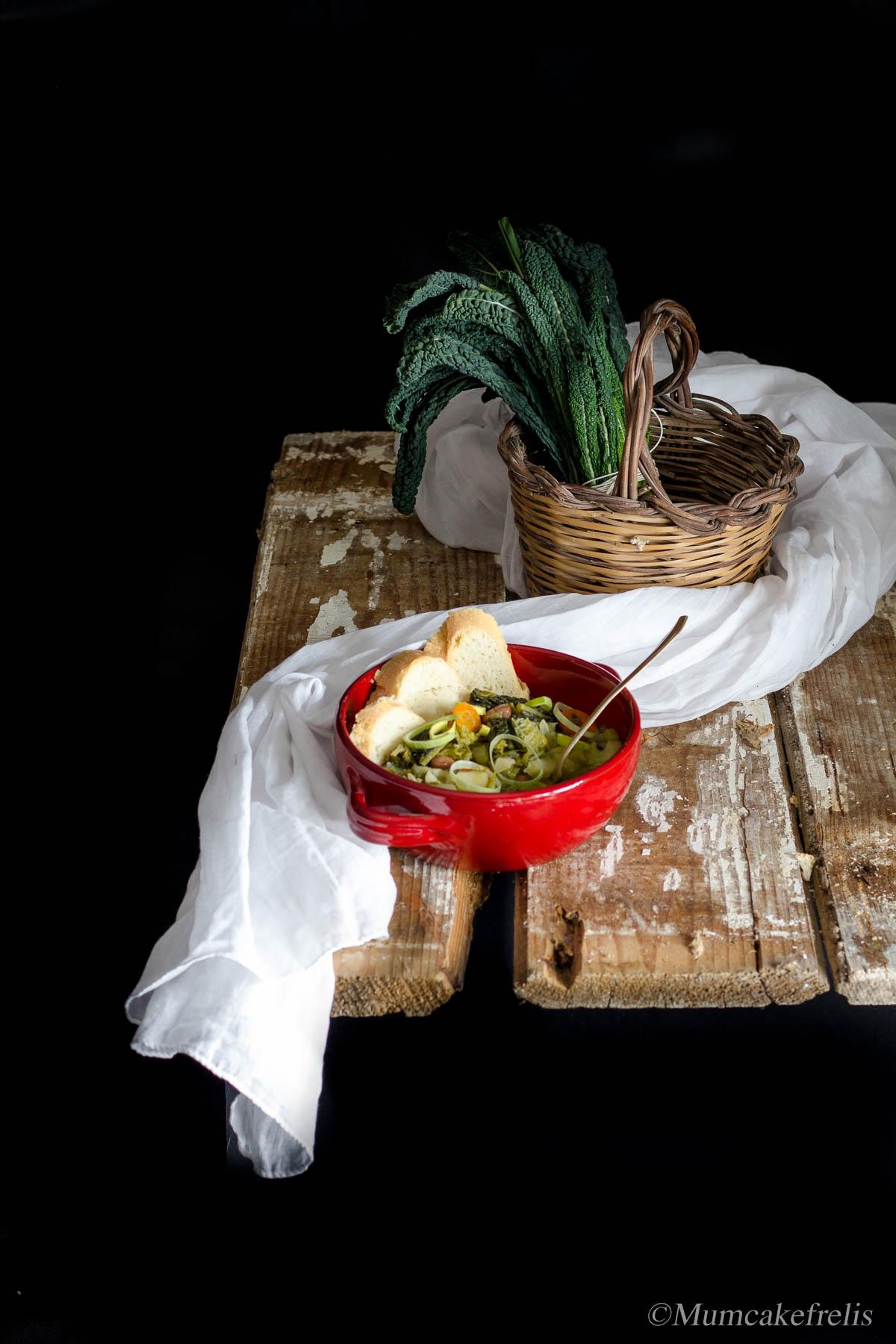 tipica ribollita toscana