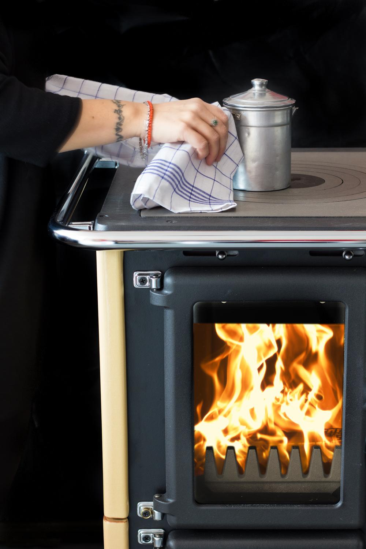 Nordica Extraflame cucina a legna