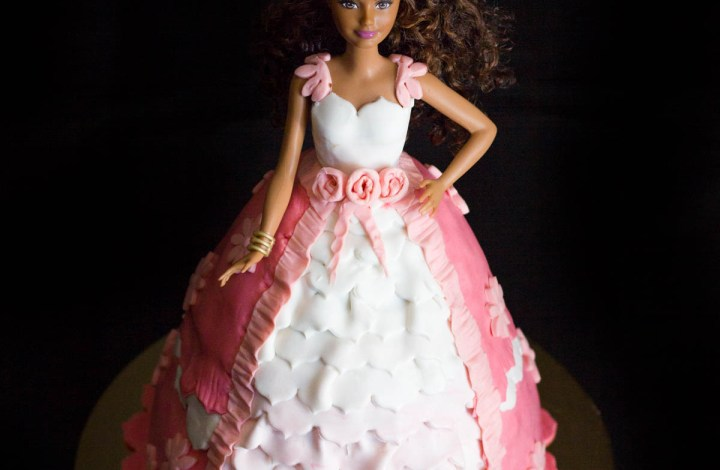 Barbie Doll Cake, una principessa in rosa.
