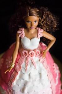 torta bambola barbie