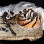 ciambella cocco e mirtilli