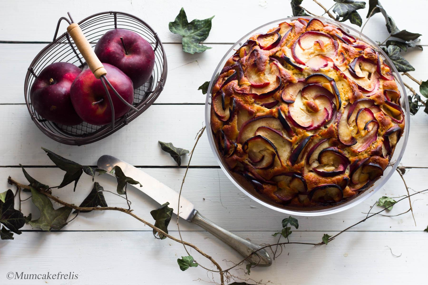 Ricetta Torta di mele con rose