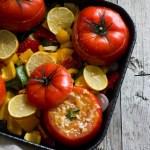 foto di pomodori ripieni