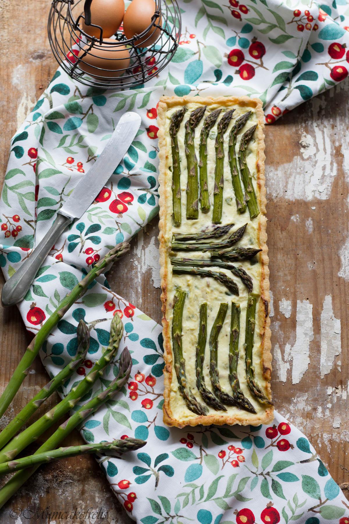 torta con asparagi