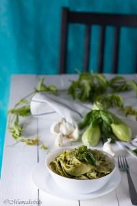ricetta del pesto alle zucchine