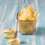 Patate chips fatte in casa, patatine croccanti come quelle in busta!