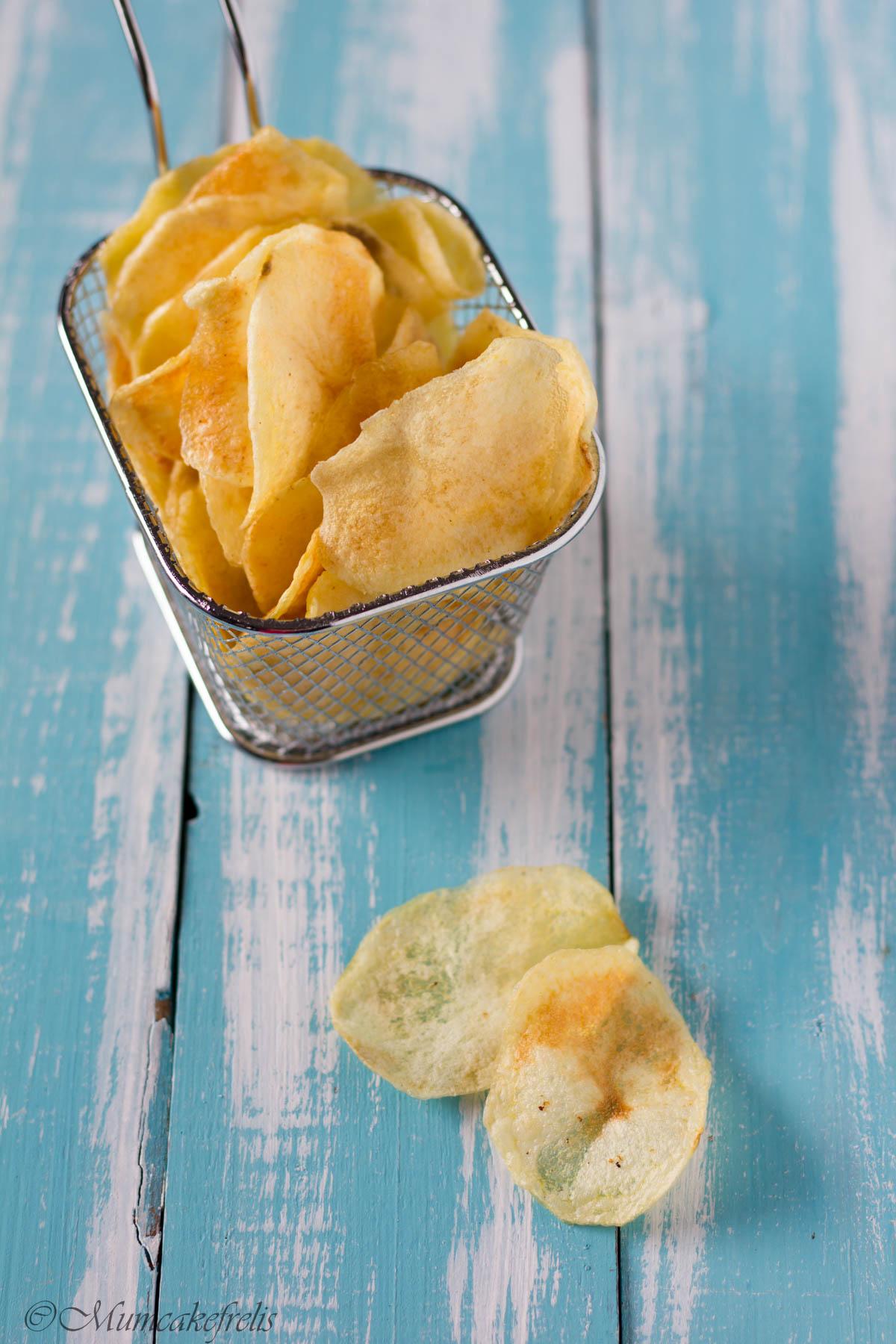 come si fanno le chips di patate