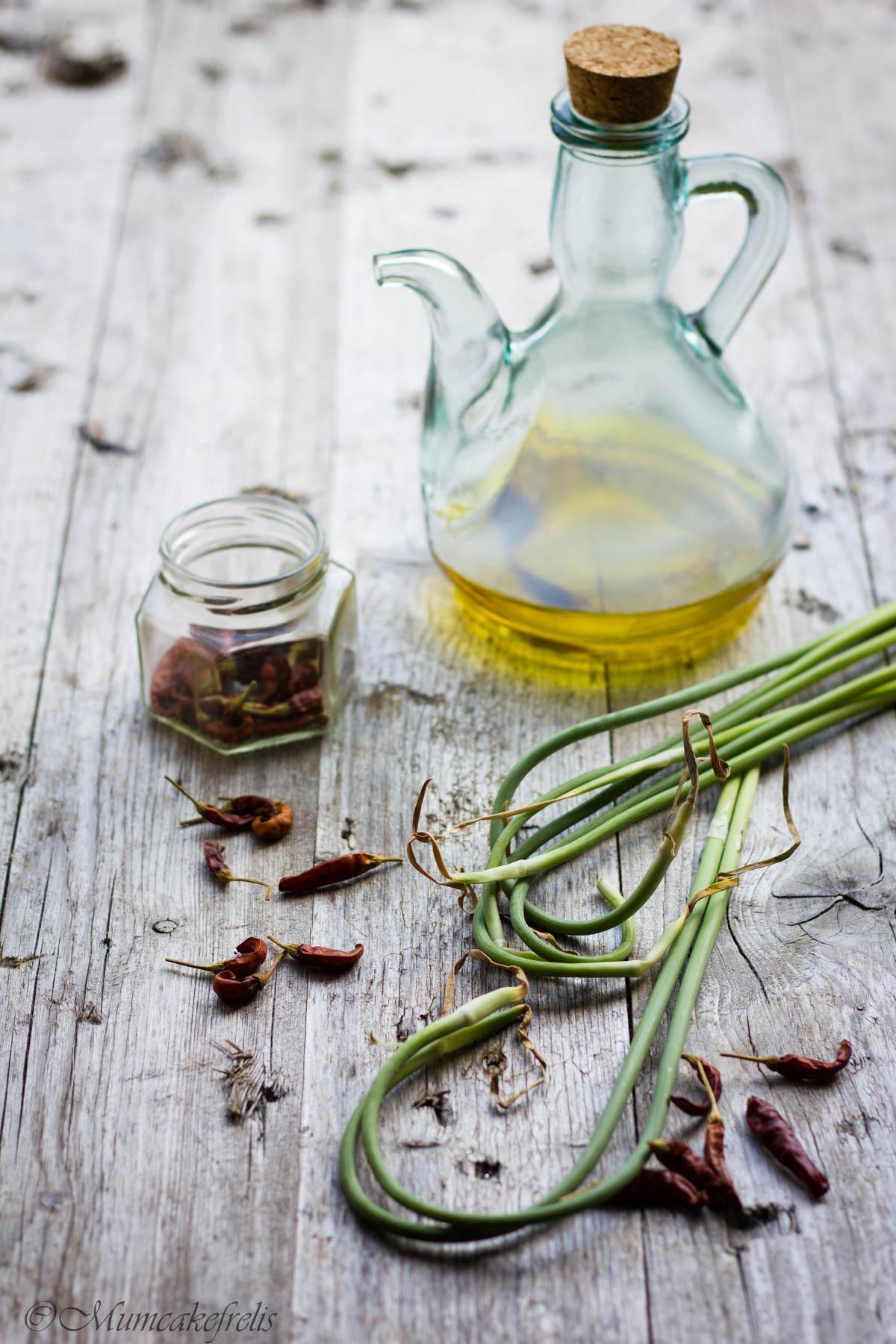 talli aglio olio e peperoncino