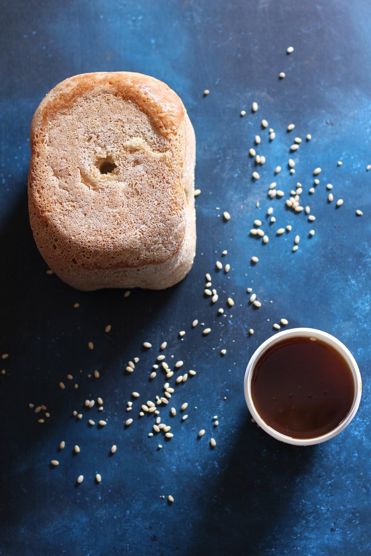 Pane all'orzo e malto di riso
