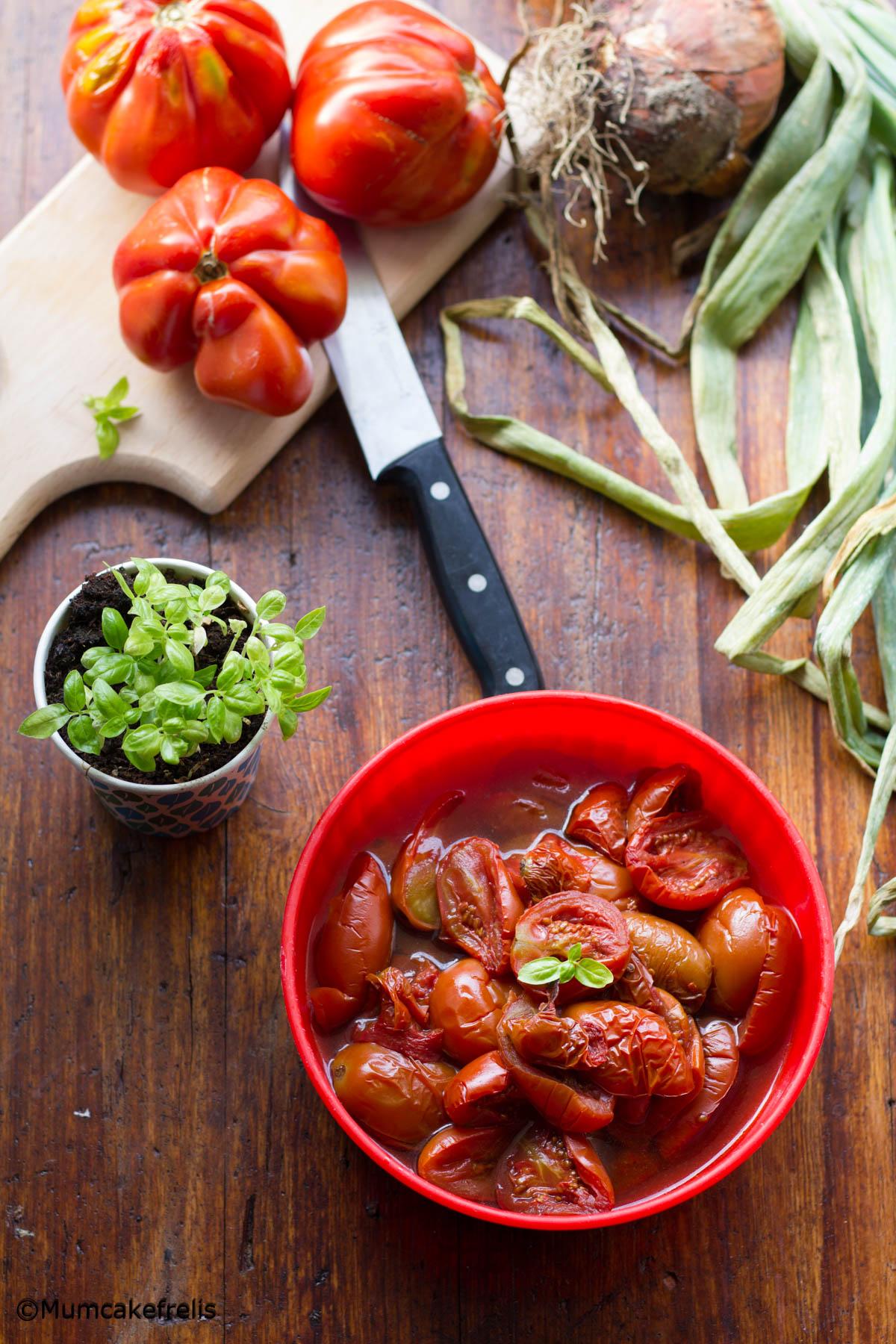 passata di pomodoro nella slow cooker