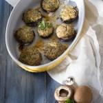 teste di champignon farciti vegetariani