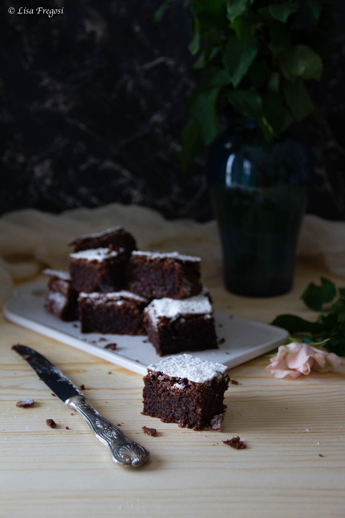 La ricetta di Sal De Riso della caprese al cioccolato