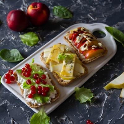 Open sandwich alla frutta, per il club del 27
