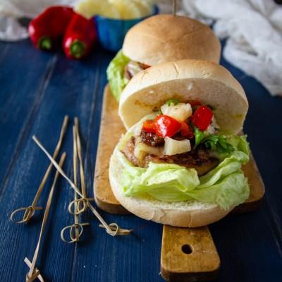 Hamburger hawaiano, hamburger estivo!