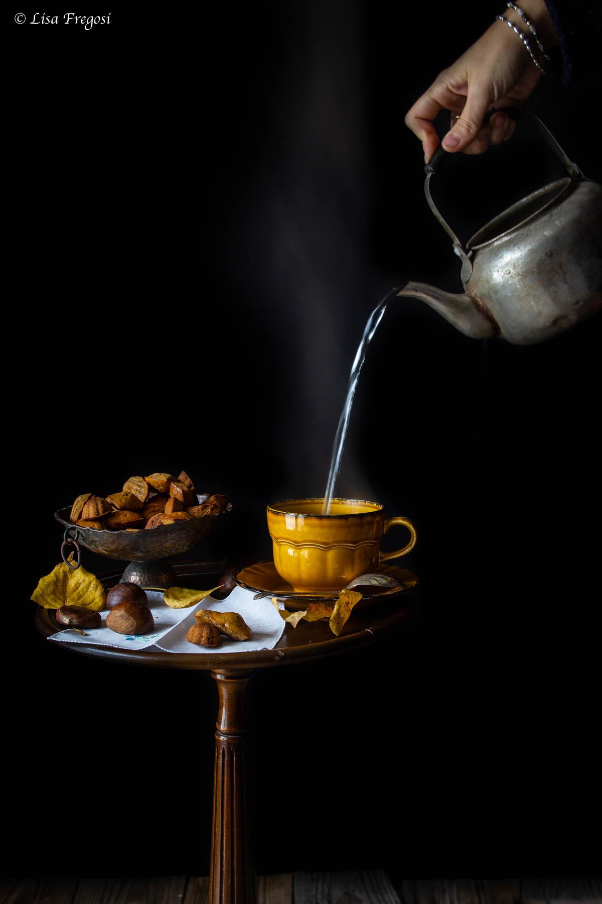 come fare per madeleine con farina di castagne e abbinamento con il tè giusto