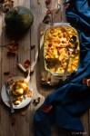 la ricetta della pasta al forno con la zucca