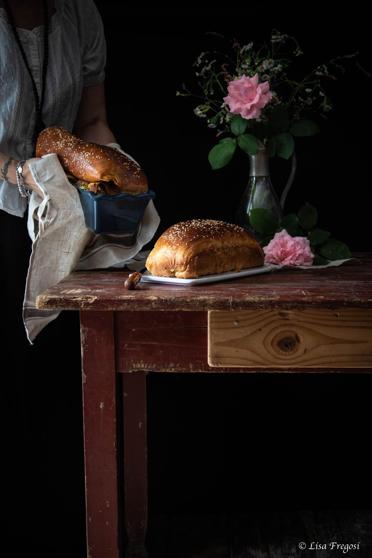 Challah ebraica pane dello shabbat