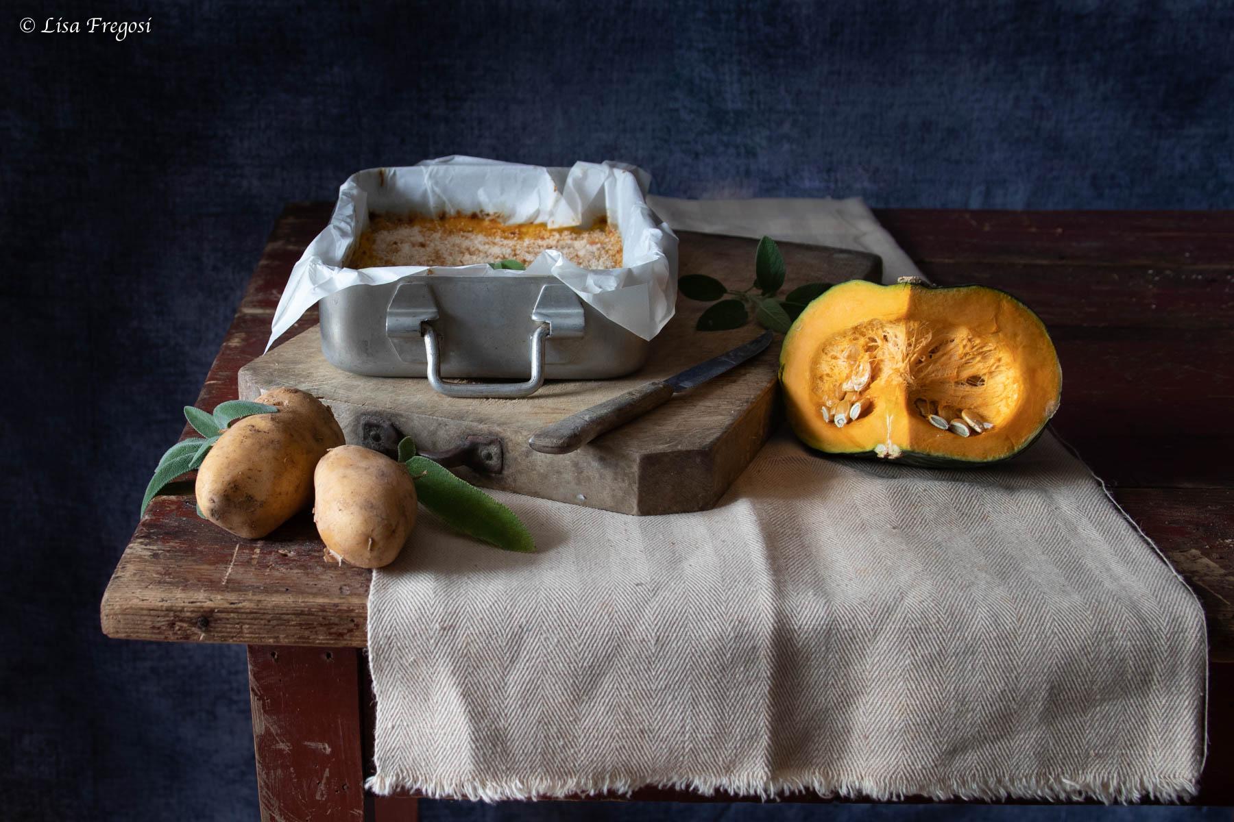 Polpettone zucca e patate