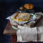 Il polpettone di patate e zucca alla genovese