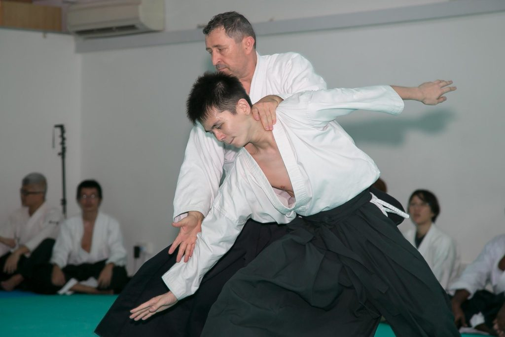 Serge Beraud Aikido Iriminage