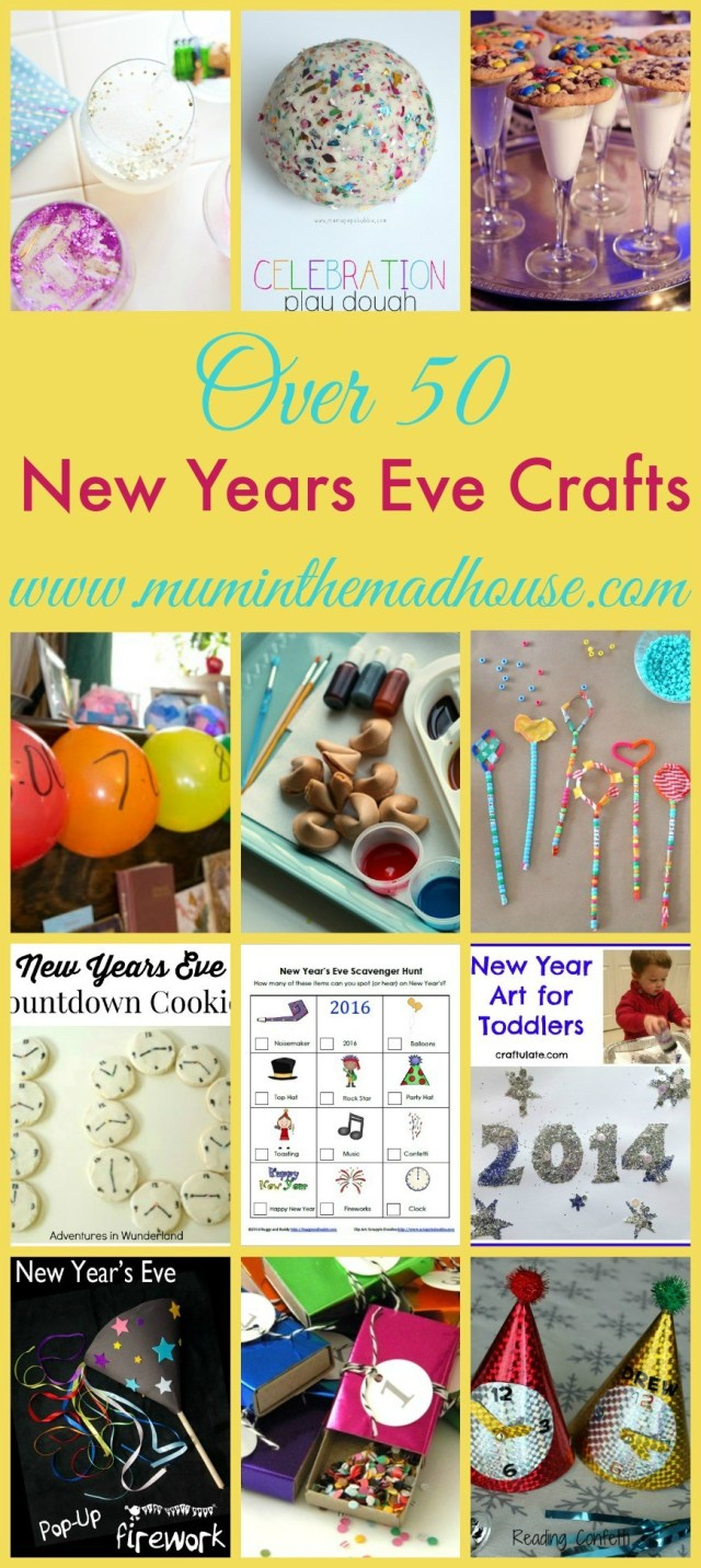 New years eve crafts