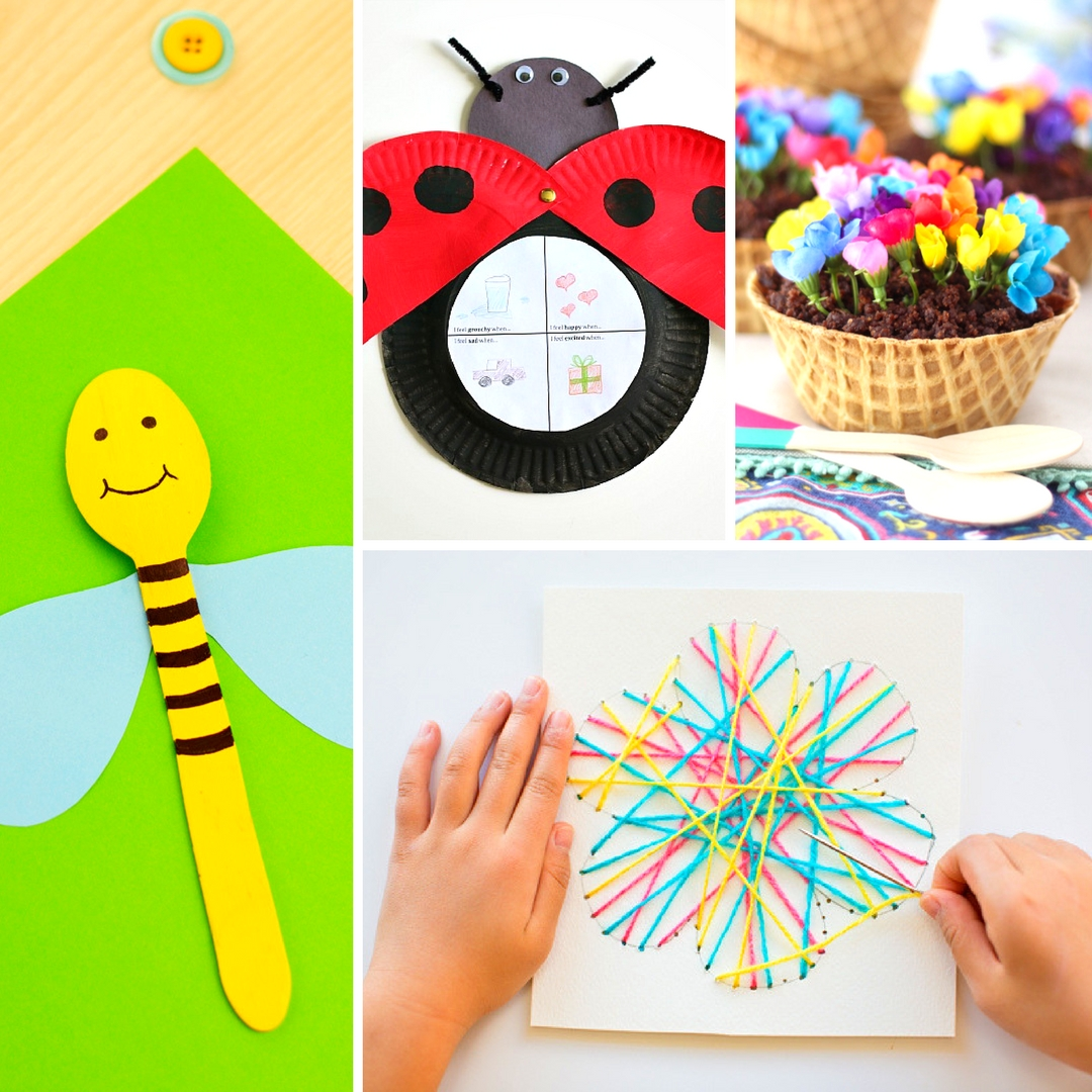 20 Fun And Adorable Spring Crafts For Kids