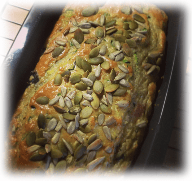 Paleo Inside-out Bread - yes this is an actual shot of the one I cooked. Just one of the yummo recipes in I Quit Sugar for LIfe