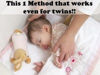 Help your Infant Sleep with 1 Method that works - even for twins!!