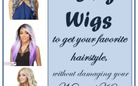 using wigs