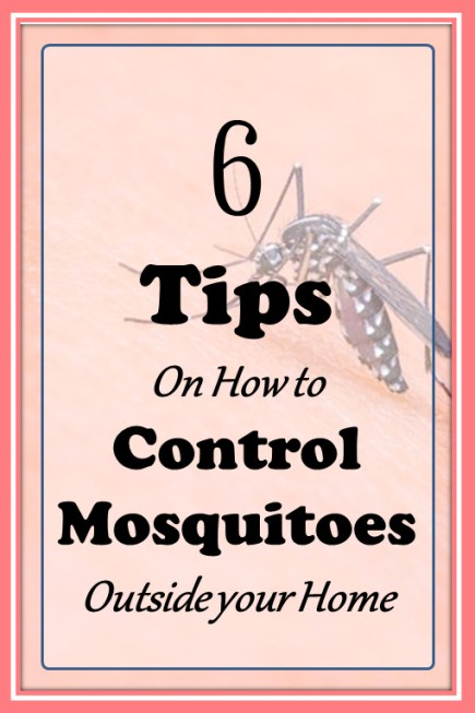 control mosquitoes