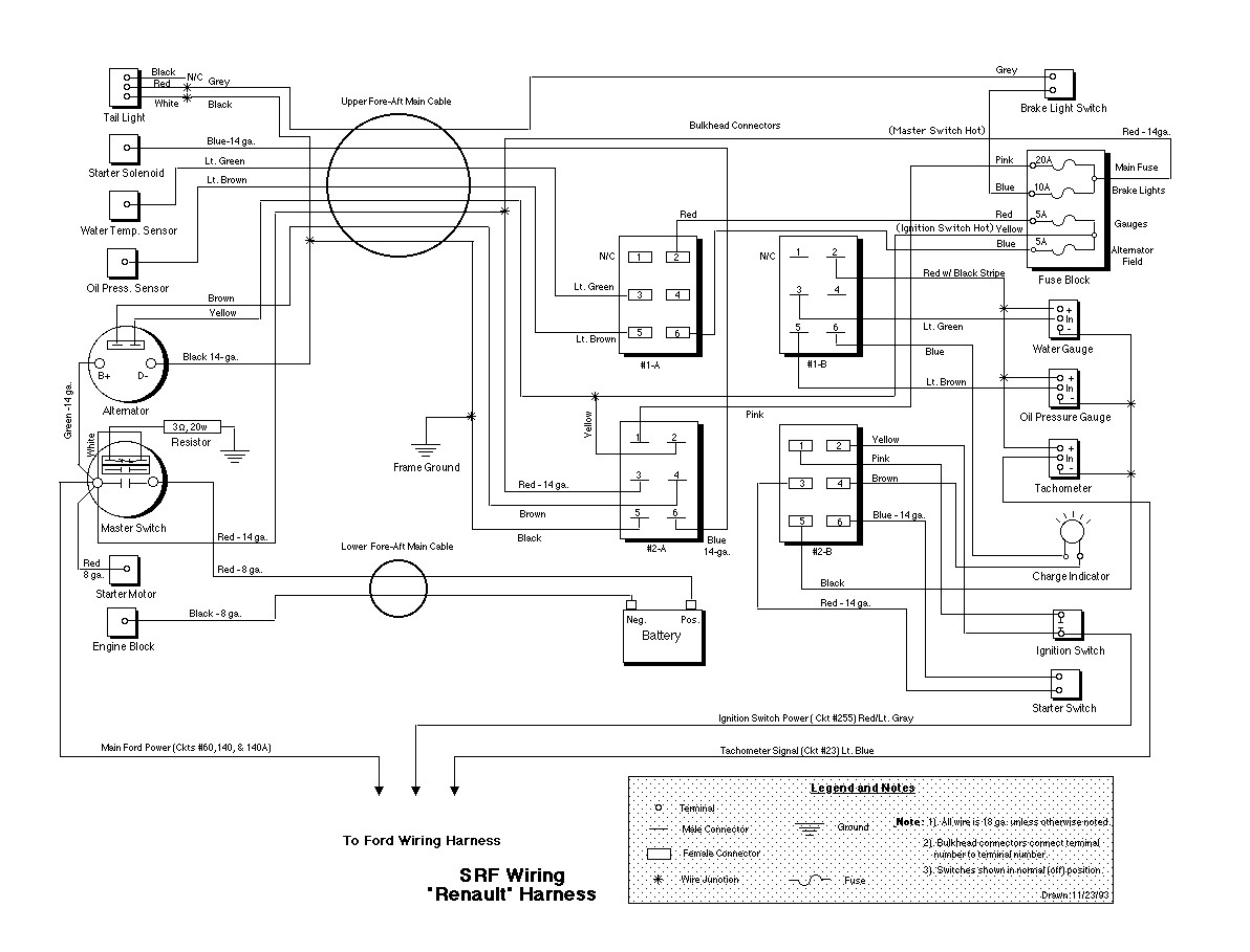 Srf Wiring Diagrams