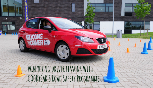 Win young drivers lessons with Goodyear's Road Safety programme