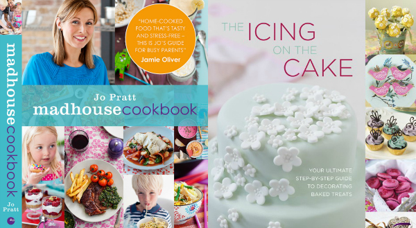 cook book review madhouse cookbook jo pratt and the icing on the cake by juliet stallwood a guide to cake decorating