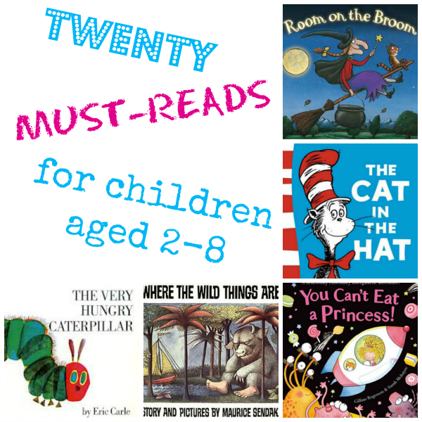 20 must-read children's books
