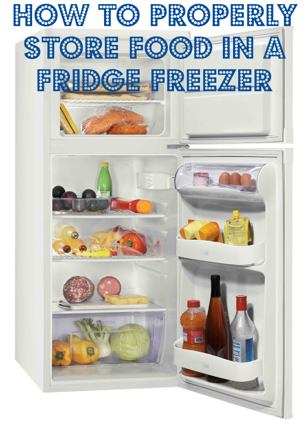Safe Food Stay Healthy Safe Storage In A Fridge Freezer
