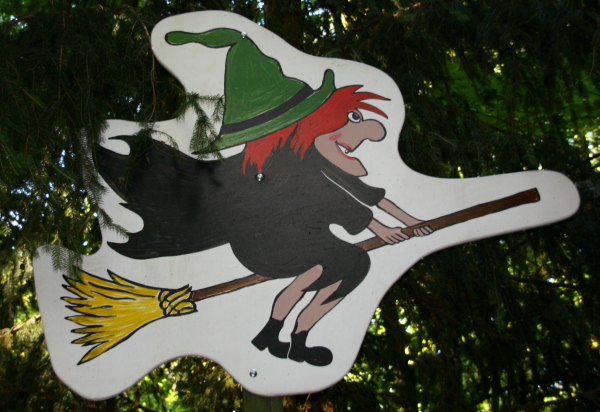 tierpark hexentanzplatz thale witch on broom