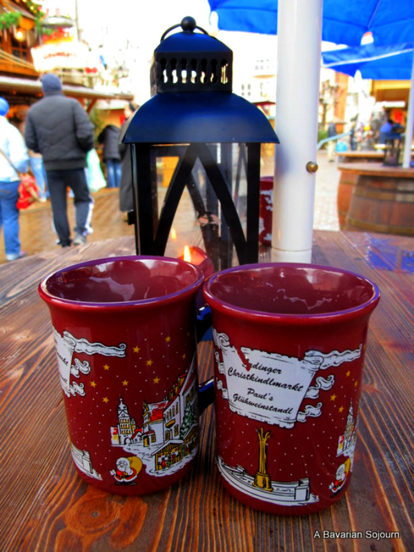 mulled wine german christmas markets