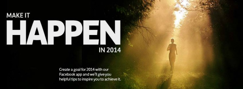 make it happen - new year's resolutions 2014
