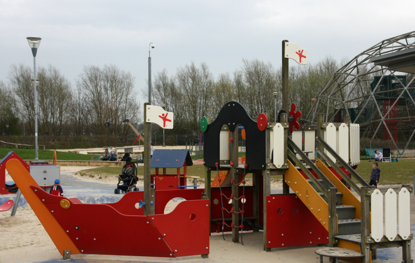Hengrove Park pirate playground