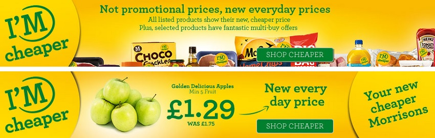 Morrisons new cheaper prices