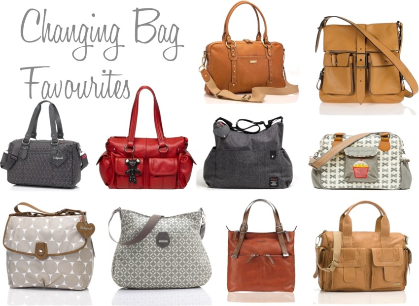 changing bag favourites, luxury changing bags, every day changing bags