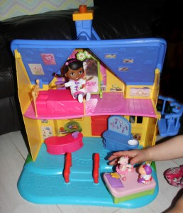 Doc Is In Clinic from Disney, Doc McStuffins clinic, playhouse