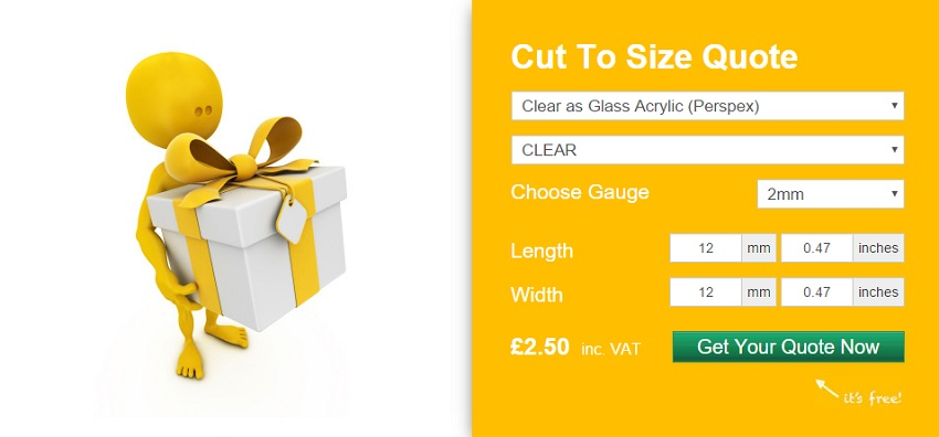 buy cut to measure plastic online