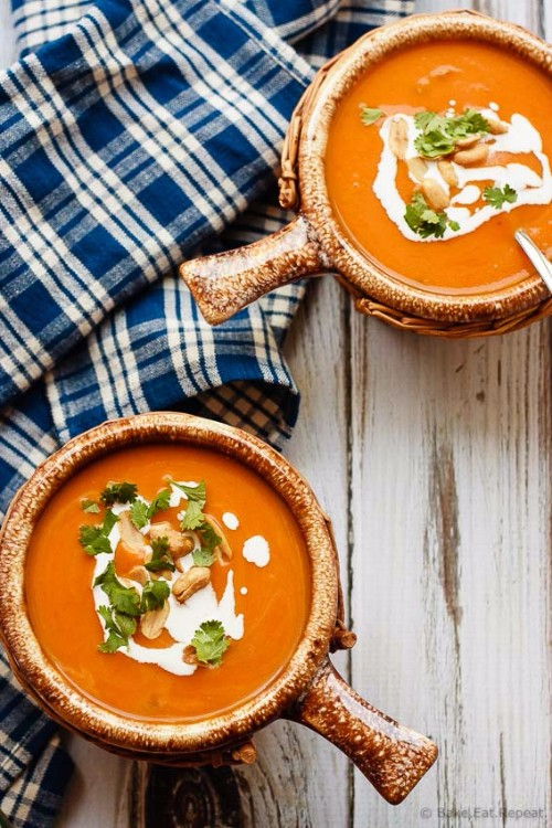 slow cooker recipes thai pumpkin soup