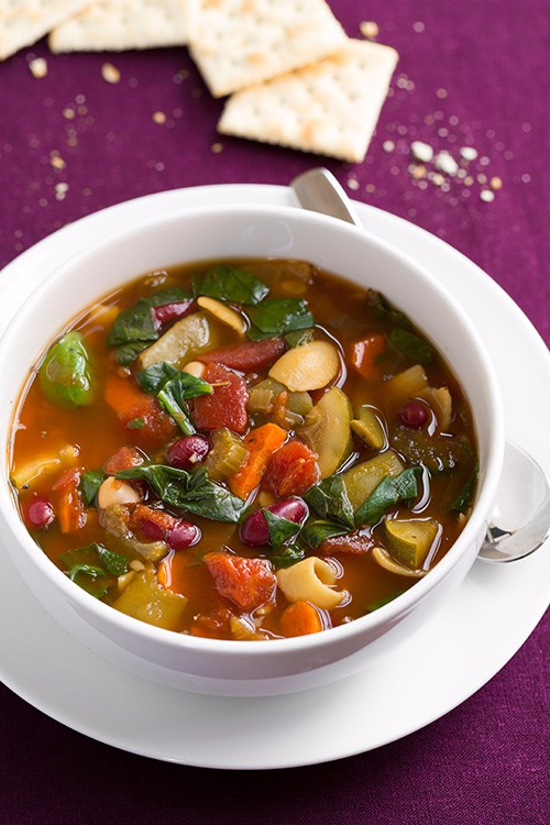 slow cooker recipes minestrone