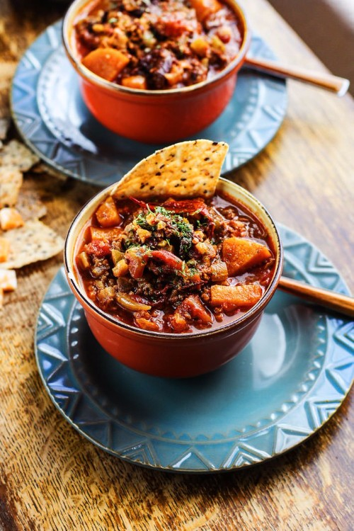 slow cooker recipes sweet potato chipotle chili