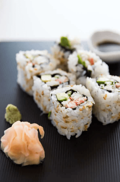 Takeaway recipes california roll