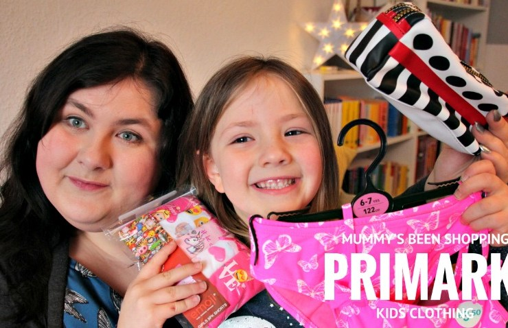 Primark Haul: Kids Clothing for Spring and Summer (video)