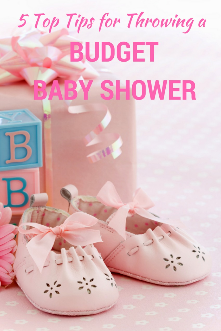 how to plan a budget baby shower, plan a baby shower on a budget