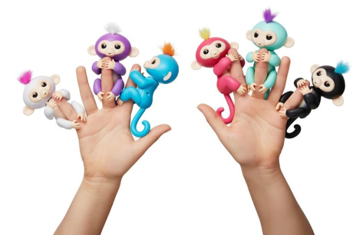 Win two Fingerlings – the brand new toy for little monkeys